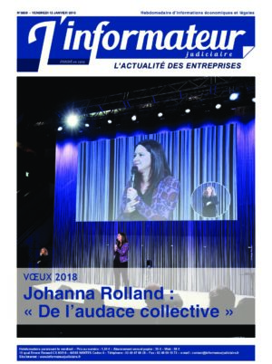 Couverture du journal du 12/01/2018