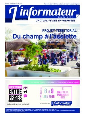Couverture du journal du 20/04/2018