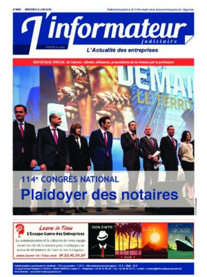 Couverture du journal du 08/06/2018