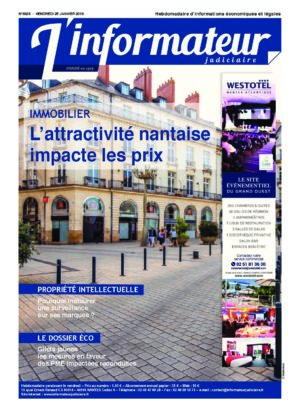 Couverture du journal du 25/01/2019