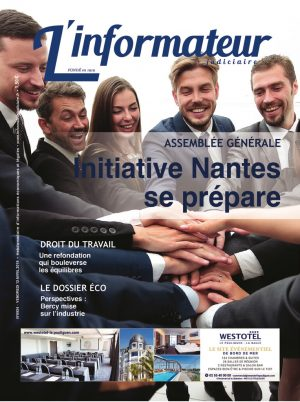 Couverture du journal du 12/04/2019