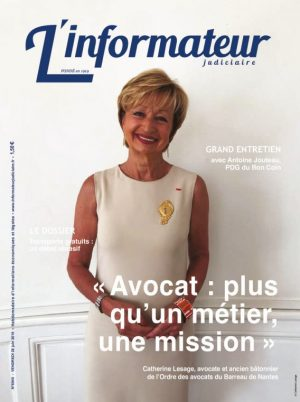 Couverture du journal du 28/06/2019
