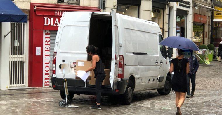 Illustration de l'article Nouvelles pistes pour la livraison urbaine