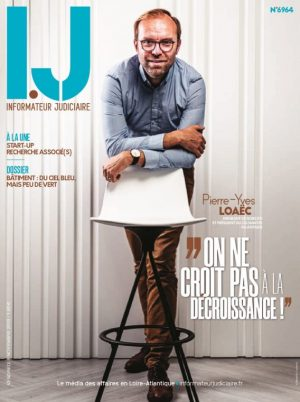 Couverture du journal du 08/11/2019