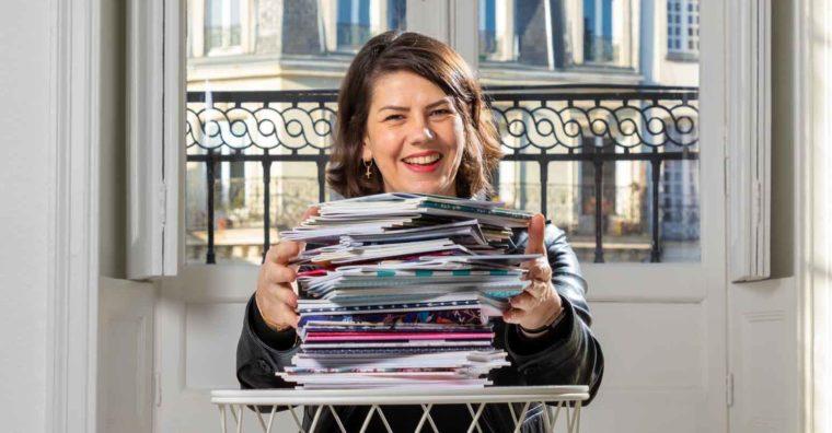 Illustration de l'article Sophie PÉAN, fondatrice des Jolis Cahiers