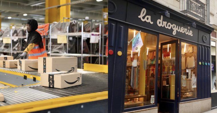 Illustration de l'article Petit commerce versus Amazon : la guerre est déclarée