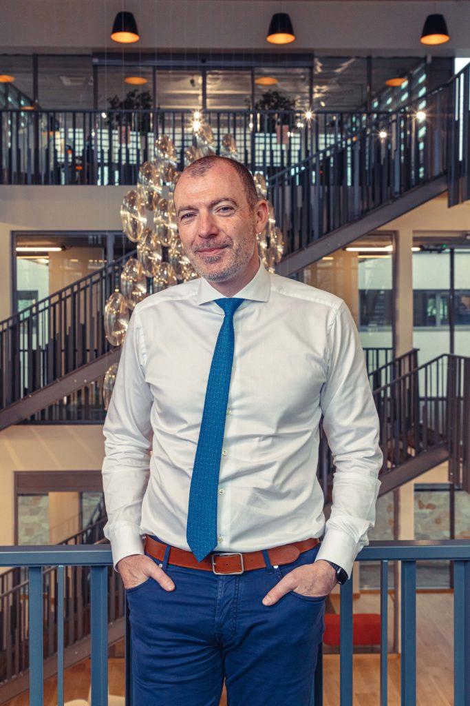 Yoann Chouin-Joubert, PDG du Groupe Réalités