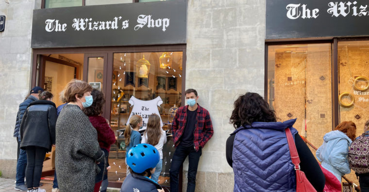 Illustration de l'article The Wizard's Shop reste à Nantes