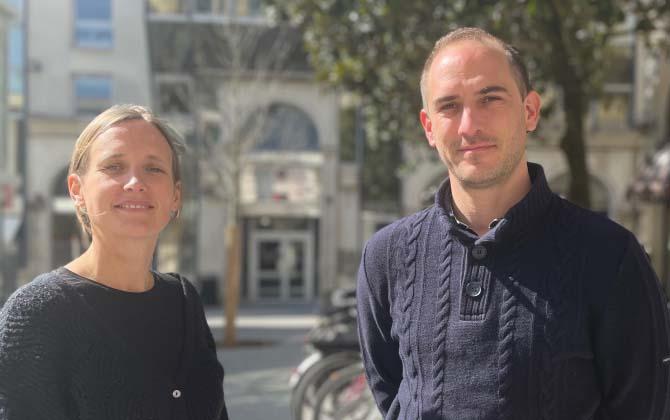 Claire NIJDAM et Olivier de KÉRIMEL, cofondateurs de Berny.