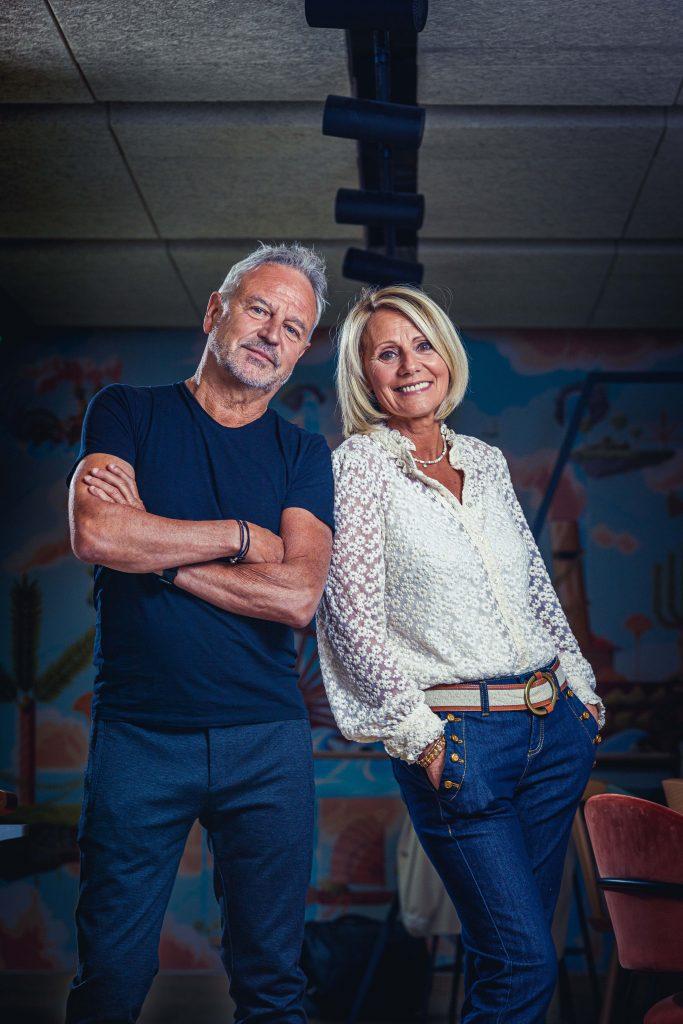 Frédéric Monnier et Christine Denis