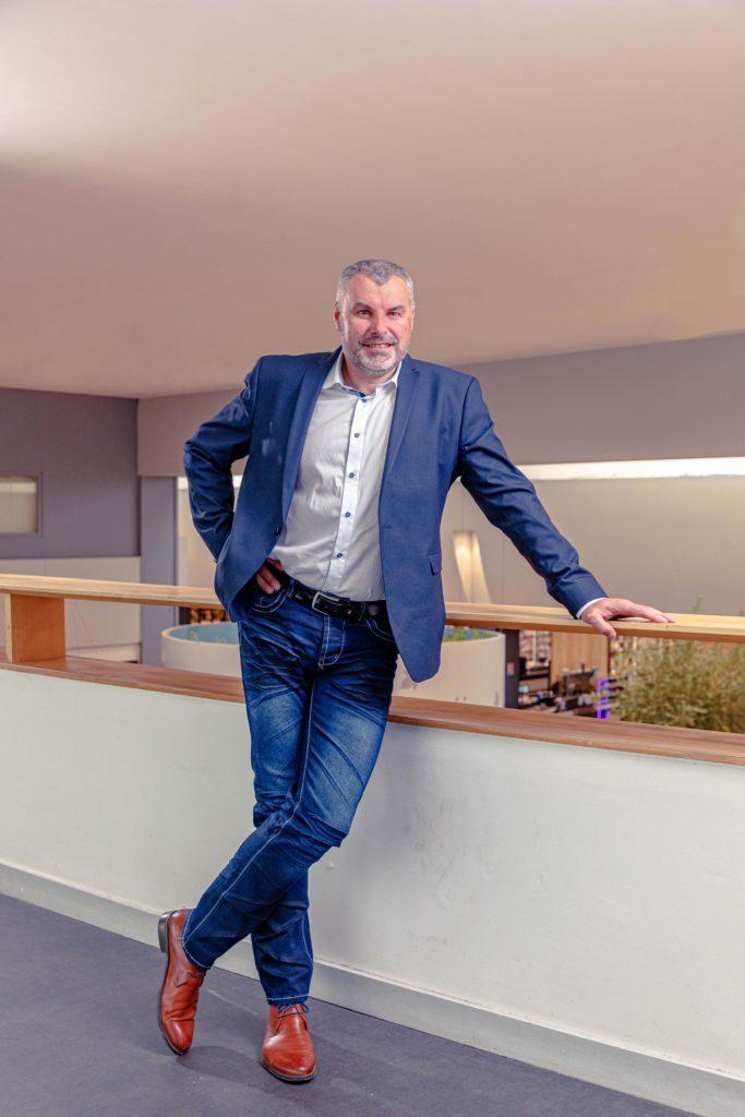 Pascal CLARET, directeur des magasins U de La Chapelle-sur-Erdre et Carquefou.
