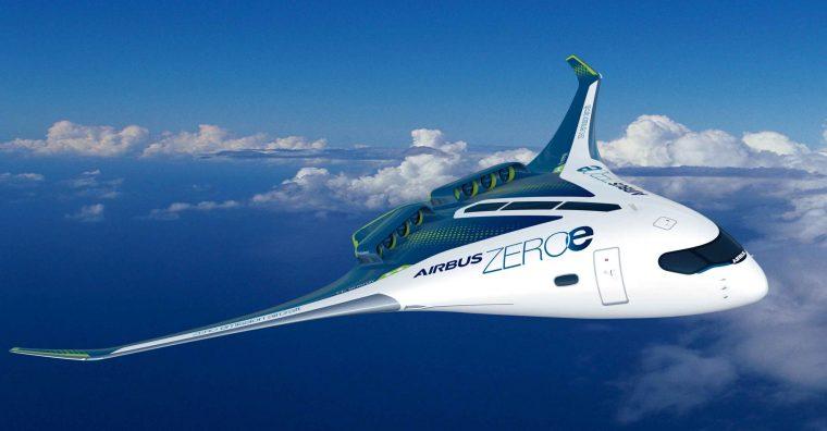 Illustration de l'article Airbus développe son avion à hydrogène à Nantes