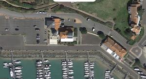 vue aerienne Port Bourgenay