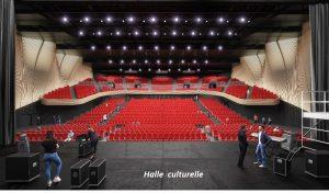 Halle culturelle arena LSO