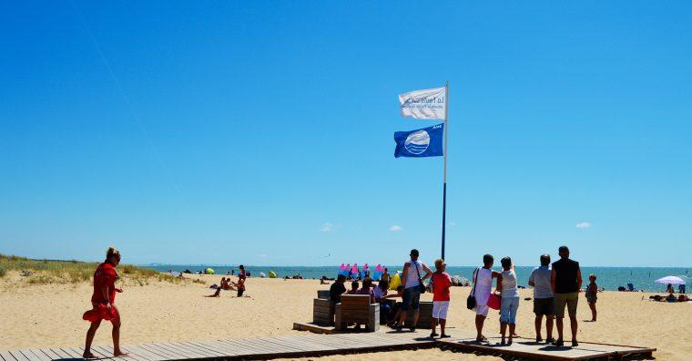 Illustration de l'article La Vendée obtient le Pavillon Bleu pour 13 plages et 2 ports