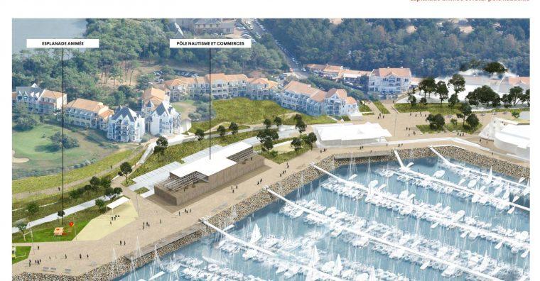 Illustration de l'article Le maire de Talmont-Saint-Hilaire veut faire de Port Bourgenay un centre de vie