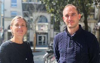 Claire Nijdam et Olivier de Kérimel, cofondateurs de Berny