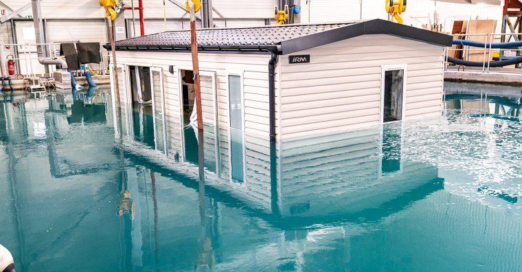 Illustration de l'article Beneteau conçoit un mobil-home waterproof