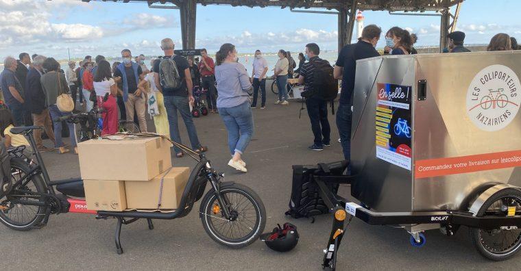Illustration de l'article « En selle ! Entreprendre à vélo », direction Saint-Nazaire