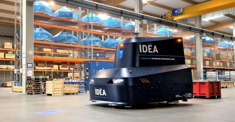 Illustration de l'article Idea et Eca Group présentent leur premier véhicule autonome